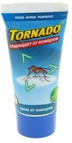 Торнадо крем от комаров. 60мл.