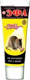 Эфа гель для уничтожения крыс и мышей 75 мл.